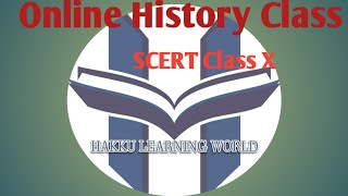 ONLINE HISTORY CLASS SCERT StdX Russian Revolution