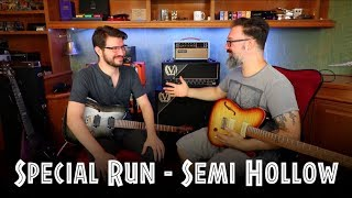 Chapman ML3 Semi Hollow - Zach Comtois Checks Out The Features & Tones