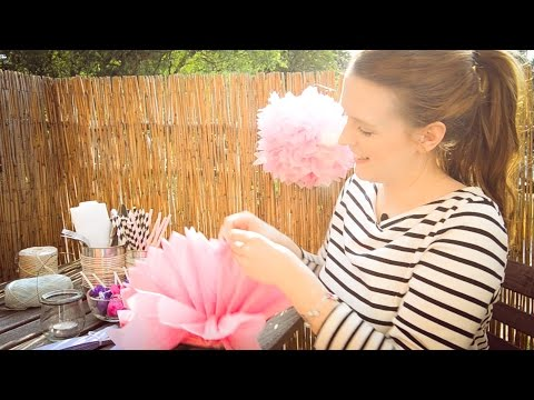 Summer Party Dekoration mit Anna Frost - Werbung