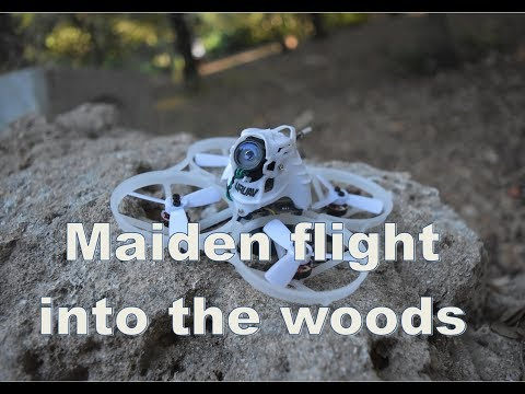 Uruav UR85HD - Maiden flight into the woods - Caddx Turtle V2