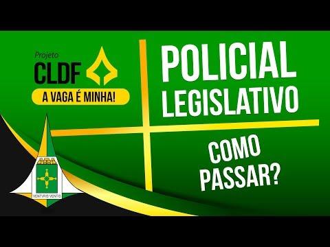 Concurso CLDF - Policial Legislativo | Edital comentado e dicas de estudo - Como Passar?