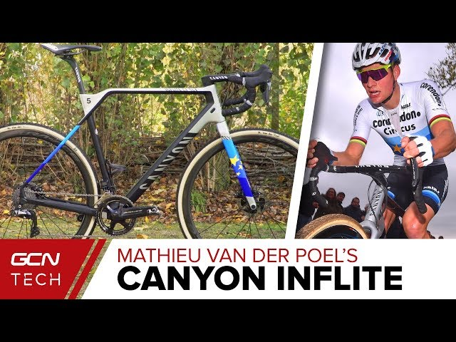 Mathieu Van Der Poel's Canyon Inflite CF SLX Cyclo-Cross