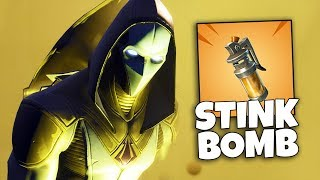 The STINK BOMB in Fortnite (Port-A-Fart)