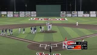 Lamar University Baseball vs UTSA