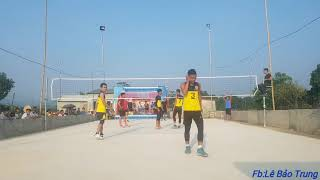 Fc K52 Từ Sơn vs Fc Nhà Xác TPTB   Bán Kết 2 giải bóng chuyền 4 vs 4 cúp Cà Phê Số năm 2018