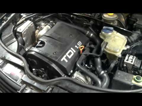 Фото к видео: Замена ремня ГРМ на VW Passat B5 1,9 TD
