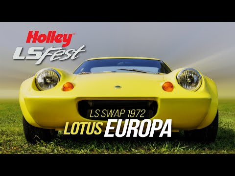 Simplify and Add LS: This Lotus Europa with an LS Engine is Lightweight, Unique, and Wicked Fast
