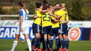 HIGHLIGHTS   Scotland 4-1 Iceland   SWNT   Scotland Women's National Team   Algarve Cup