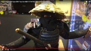 Toys Dao 玩道 1/6 Hell Ninja 鬼忍 action figure unboxed on TOYSTV Figure Talk