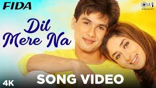 Dil Mere Naa Song Video- Fida | Shahid Kapoor, Kareena Kapoor | Udit Narayan, Alka Yagnik| Anu Malik