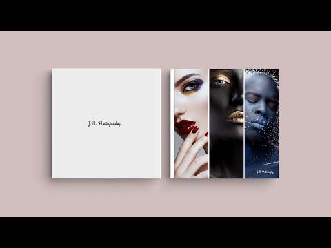 Inspiration pour votre la couverture de votre livre photo - 'Portfolio photographique'