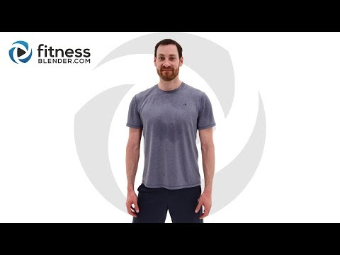 56 Minute HIIT and Strength Workout - Intense Lower Body Strength and HIIT Workout Challenge