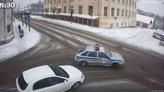 Подборка ДТП аварий за 16 февраля 2018  Гололед