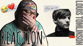 Louis Tomlinson   Two Of Us REACTION (I Cried)