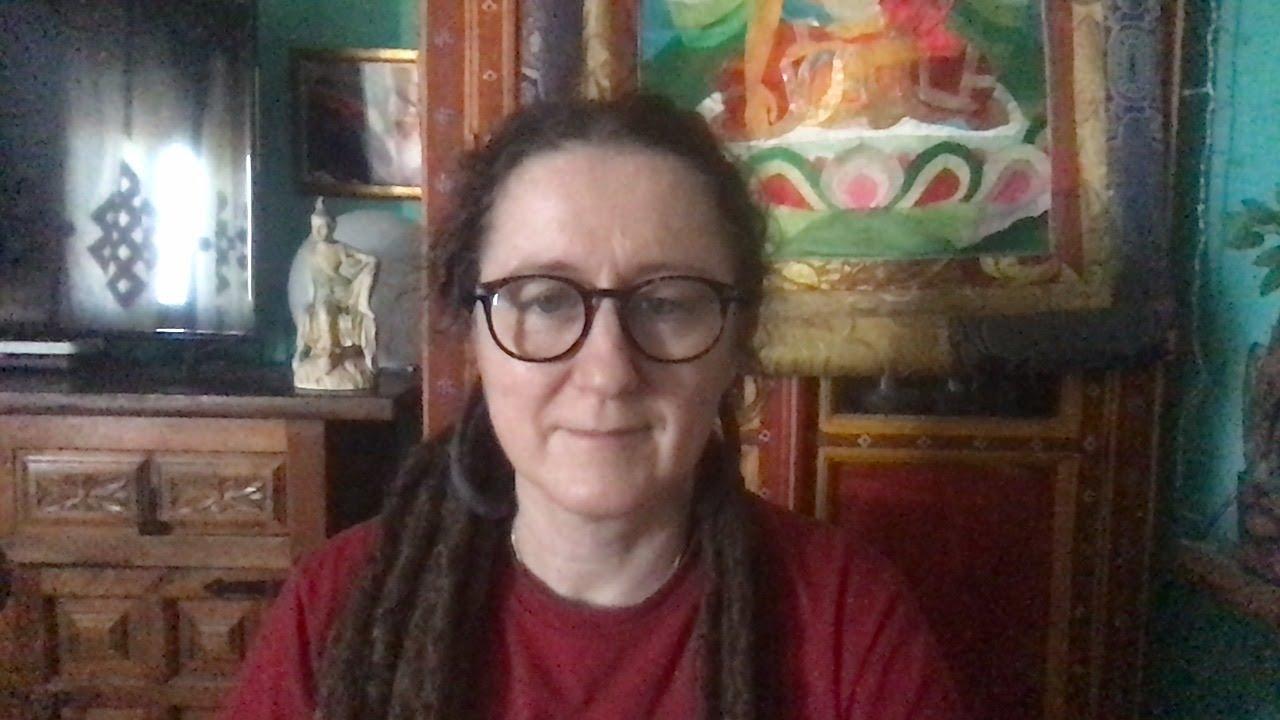 Lama Gangchen Tantric Self-Healing 2- Commentary by Lama Caroline - part 70 (EN) Amitabha