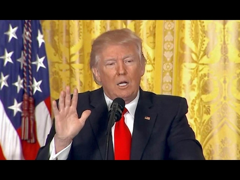 FULL: President Donald Trump Press Conference in the East Room. Feb 16. 2017. 2/16/2017