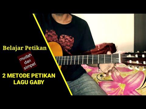 Belajar gitar - petikan lagu gaby tinggal kenangan - untuk pemula