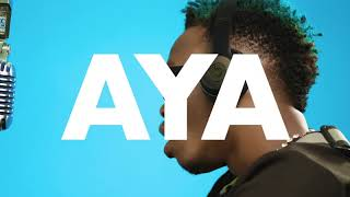 MARIOO - 'AYA' (Official Lyrics Video) Sms 9574273 To 15577 Vodacom Tz
