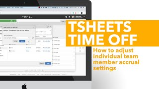 How to adjust individual team member accrual settings in QuickBooks Time