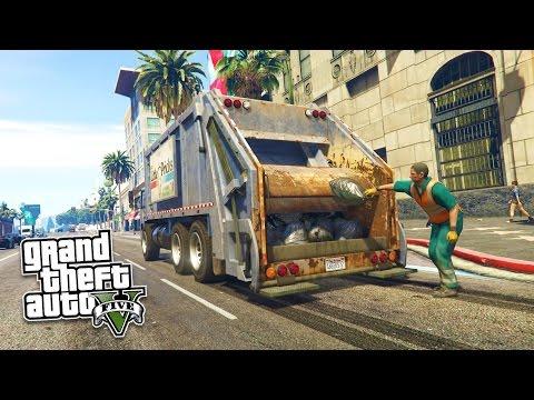 Grand Theft Auto V Walkthrough - GTA 5 Mods - PLAY AS A COP