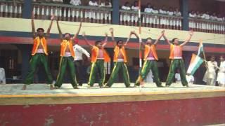 BCS students performed on Desh Mere Desh Mere Meri shaan hai tu
