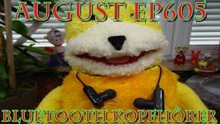 """""""AUGUST EP605 BLUETOOTH KOPFHÖRER FÜR 14,99 Euro"""" -Vorstellung"""