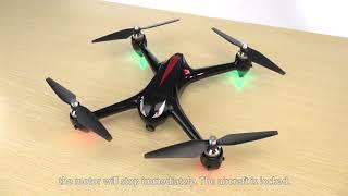 Радиоуправляемый квадрокоптер MJX Black Bugs 2 B2W GPS FPV WiFi бесколлекторные моторы 2.4G