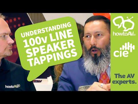 Understanding 70v / 100v line Loudspeaker Tappings