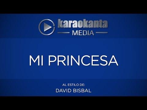 Mi princesa David Bisbal