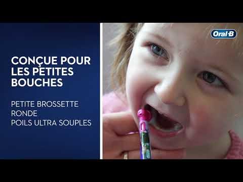 Brosse à dents électrique pour enfant Oral-B Kids
