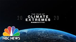 The Year Of Climate Extremes