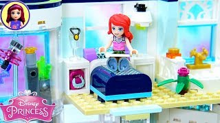 Custom Bedroom & Pool For Ariels Modern Apartment 🏡 Lego Building Tutorial Part 2