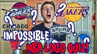 IMPOSSIBLE NBA LOGO QUIZ?!?!