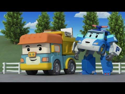 Робокар Поли - Приключение друзей - Суета вокруг мусора (мультфильм 41 в Full HD)
