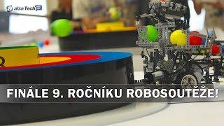 Robosoutěž 2017: Finále 9. ročníku robotické soutěže pořádané ČVUT! - AlzaTech #661