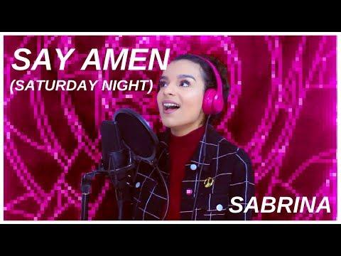 Say Amen (Saturday Night) - Panic! At The Disco (Cover by SABRINA)