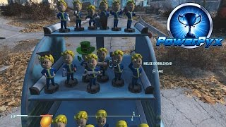 Fallout 4 - All Bobblehead Locations (They're Action Figures Trophy / Achievement Guide)