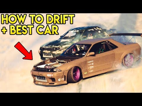 GTA Online - Best Drift Car + How To Get Started Drifting Easy