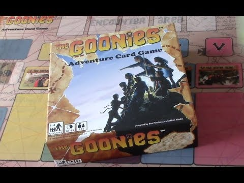 Box of Delights PRESENTS.............. The GOONIES Adventure Card Game