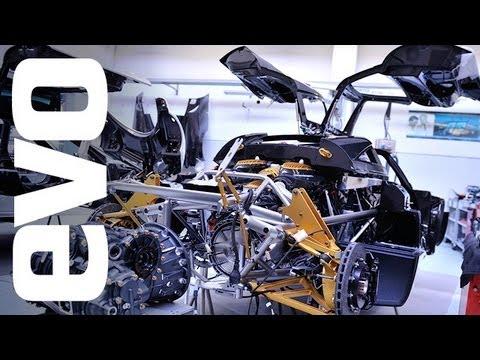 Pagani Huayra Factory Tour Video