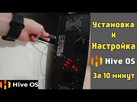 Простой способ установить и настроить Hive OS