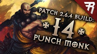 Diablo 3 Season 16 Monk Inna Uliana GR 120+ build guide - Patch 2.6.4