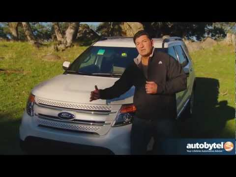 2012 Ford Explorer: Video Road Test and Review
