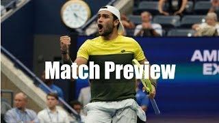 Nadal vs. Berrettini, Medvedev vs. Dimitrov | US Open 2019 Semifinal Preview