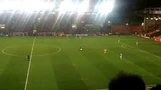 preview picture of video 'Bristol City v Gillingham 29/1/ 2015 kick off'
