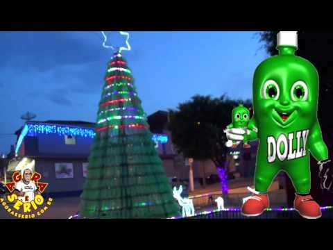 Árvore de Natal de Juquitiba considerada uma das mais feia da História de Juquitiba