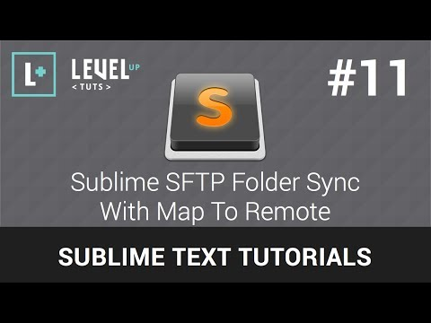 Sublime Text Tutorials #11 - Sublime SFTP Folder Sync With Map To Remote Mp3