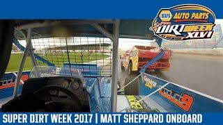 Super DIRTcar Series Matt Sheppard Oswego Speedway October 8th, 2017   ONBOARD