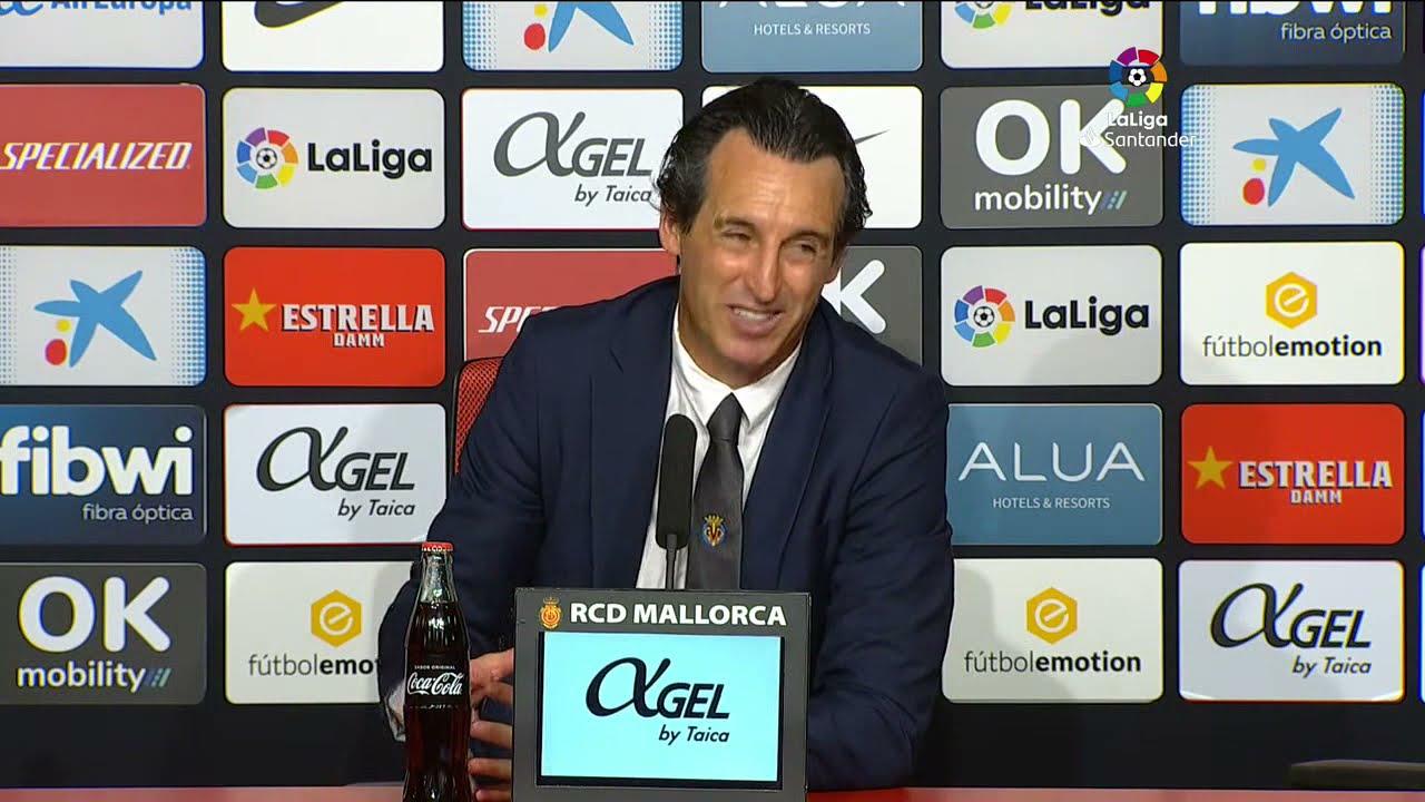 Rueda de prensa RCD Mallorca vs Villarreal CF
