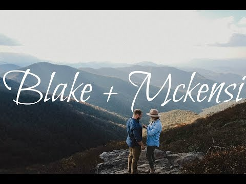 Mckensi + Blake | Craggy Gardens, North Carolina